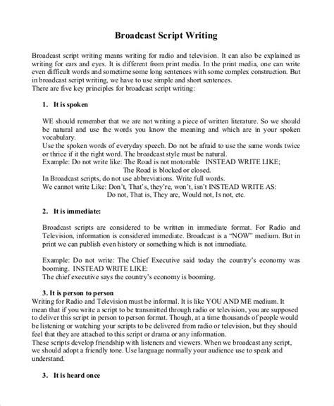 script writing template writing template 9 free word pdf documents free premium templates
