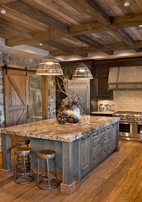 cuisines rustiques bois 1001 designs et conseils pour la cuisine rustique parfaite