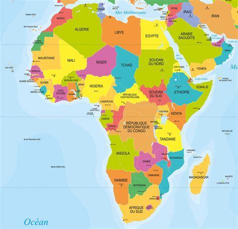 Carte Du Monde En Francais Avec Capitales by Capitales En Afrique Avec Une Carte Du Continent Pour Les