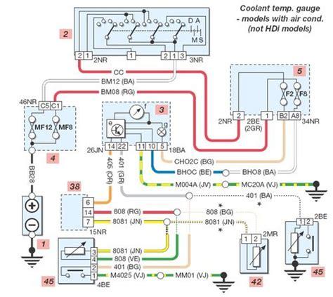 Peugeot 107 Radio Wiring Diagram by Peugeot 206 Wiring Diagram Wiring Diagram Service Manual Pdf