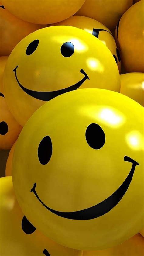hd  yellow smile balls wallpaper wallpapersbyte