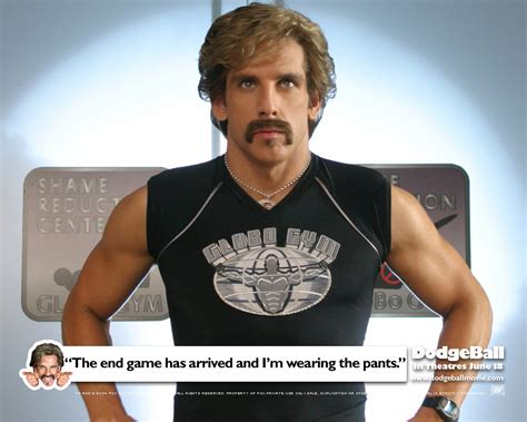 Ben Stiller Dodgeball Quotes Quotesgram