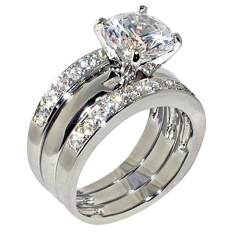 3 47 ct cubic zirconia cz solitaire bridal
