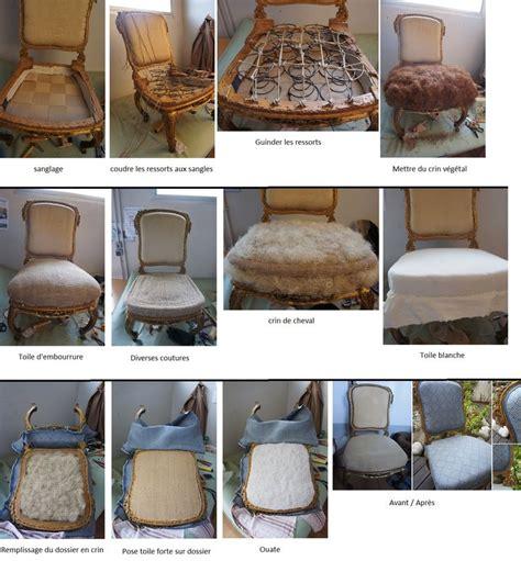recouvrir une chaise en paille relooker chaise en paille amazing agrandir la salle