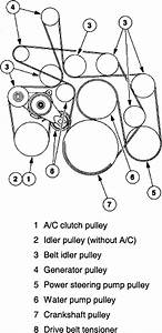 ford 6 0 diesel serpentine belt diagram 60 powerstroke for ford f 250 2004 6  0