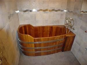 Habillage Baignoire Bois : baignoire bois 151 x 73 ~ Premium-room.com Idées de Décoration