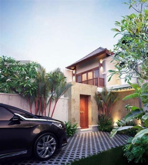 bedah desain rumah bergaya bali rumah  gaya hidup