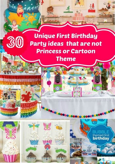 tag theme ideas for 1st birthday party for boy unique birthday party ideas for no princess