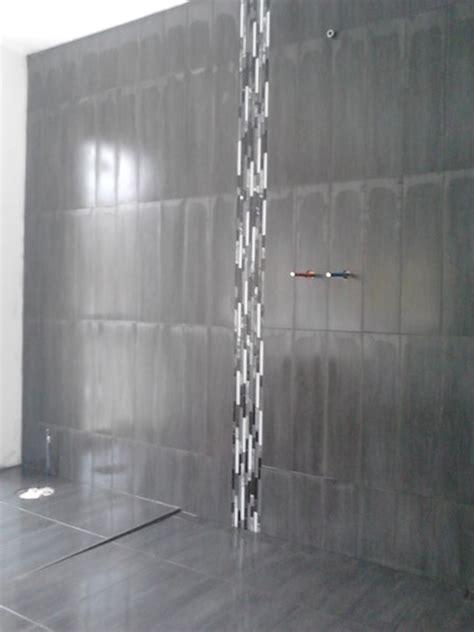 plancher cuisine pose de céramique mosaïque carrelage laurentides québec