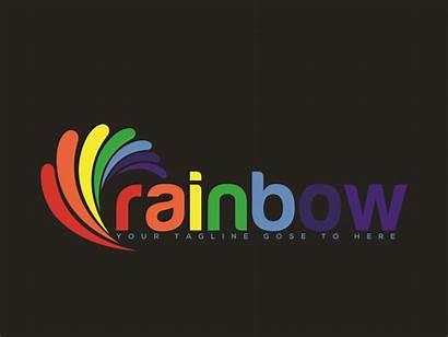 Rainbow Logos Typography Dribbble