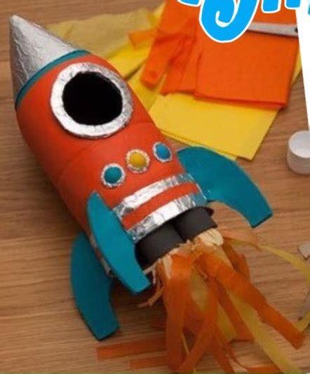 cohete espacial manualidades imaginate
