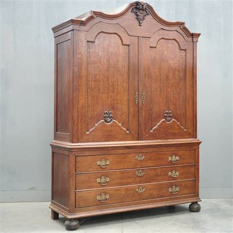 dutch oak cabinet de grande antique furniture