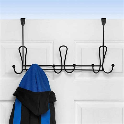 the door coat rack door coat rack in the door hooks