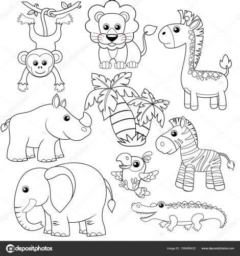 imagenes de monos  colorear dibujos  colorear