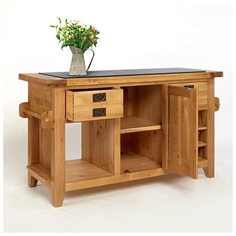 buy large kitchen island 50 rustic oak kitchen island with black granite top