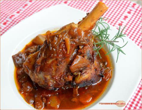 comment cuisiner les souris d agneau daube de souris d agneau confites comme au pays des ch