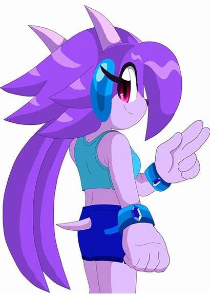 Deviantart Freedom Planet Lilac Sash Sonic Sally