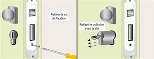 comment changer un cylindre de serrure With changer cylindre serrure