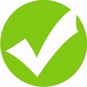 Blue tick icon Green | Volvoab