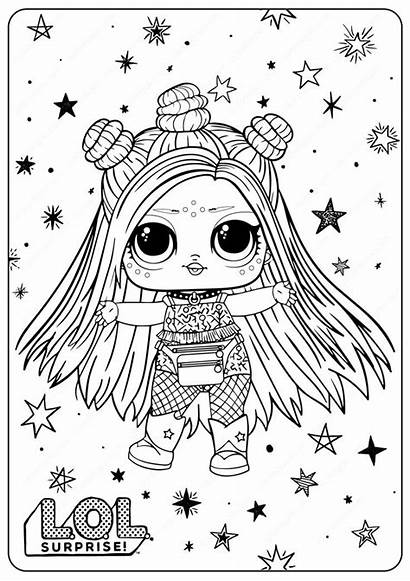 Lol Coloring Pages Surprise Printable Omg Sisters