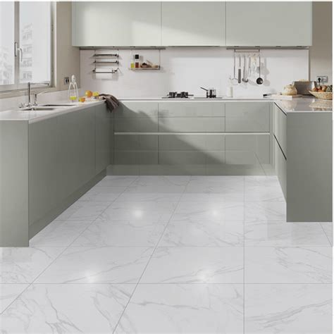 marmo bianco shine porcelain tile western distributors