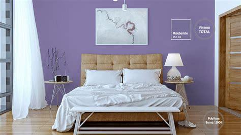 decoracion de espacios  colores violeta comex