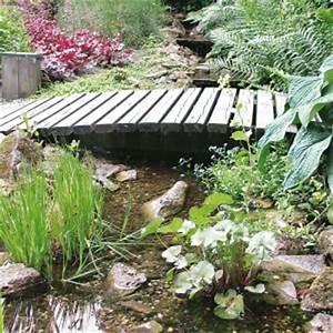 Brücke Für Gartenteich : teichbr cke mit naturagart teiche planen bauen und pflegen ~ Whattoseeinmadrid.com Haus und Dekorationen