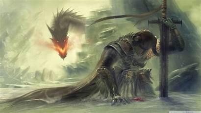 Dragon Skyrim Drawing Armor Knight Downloadwallpaperhd