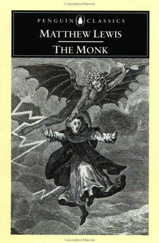 Review The Monk By Matthew Lewis  She Reads Novels