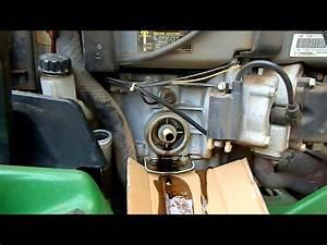 How To-garden Tractor Oil Change- John Deere 345