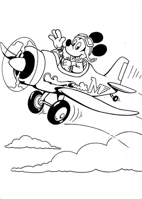 Kleurplaat Mickey Mouse Zomer by Mickey Mouse Kleurplaten 2 Kleurplaat Kleurplaten Voor