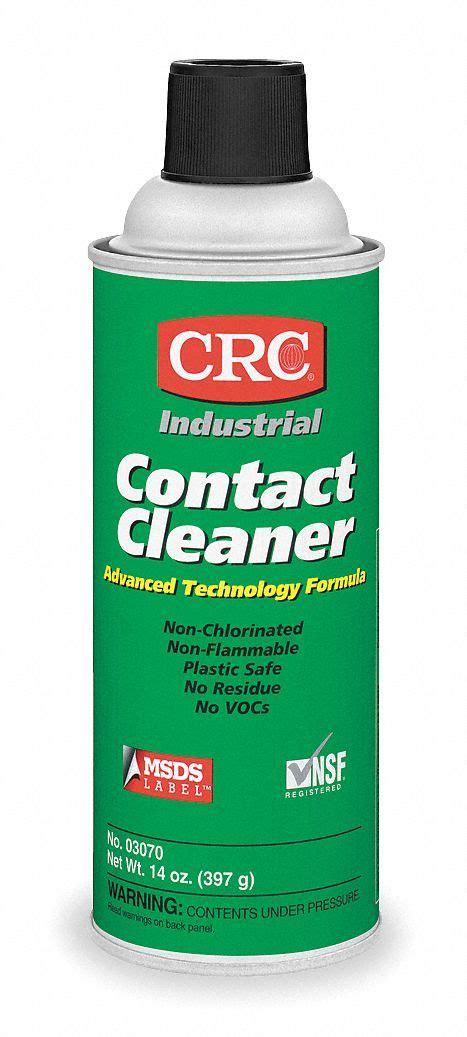 crc contact cleaner  oz aerosol  unscented liquid