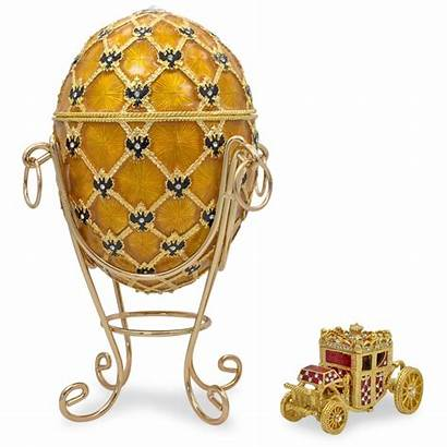 Faberge Egg Coronation 1897 Eggs Gold Easter