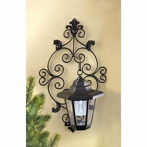 Stunning old fashioned solar lighted wall lantern yard