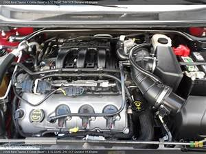 3 5l Dohc 24v Vct Duratec V6 2008 Ford Taurus X Engine