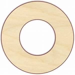 Circle Wood Pieces - Circle Wood Cutouts