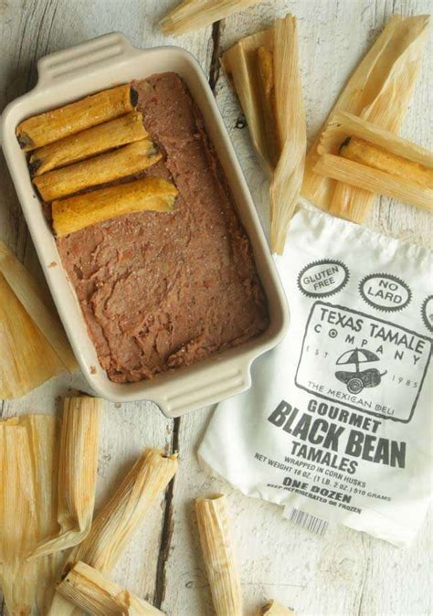 black bean tamale chicken  cheese casserole
