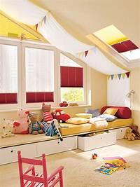 kidsroom design ideas 16 Cool Attic Kids Bedroom Ideas