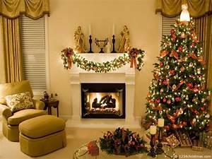 Christmas Home Decor Wallpaper