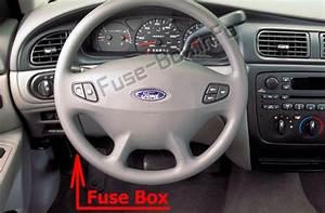 Fuse Box Diagrams  U0026gt  Ford Taurus  2000