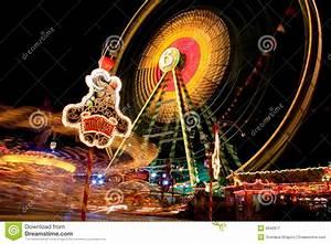 Lights At Carnival At Night Royalty Free Stock Photography ...