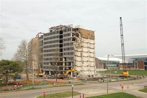 end of an era south cus residence halls demolished