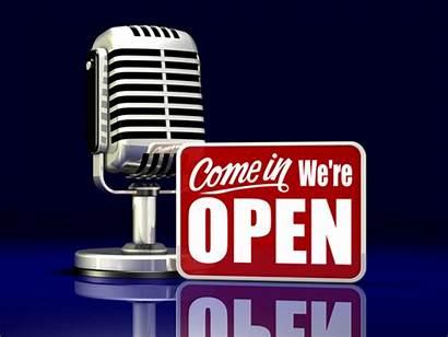 Radio Advert Talk Advertising Ads Open Mic
