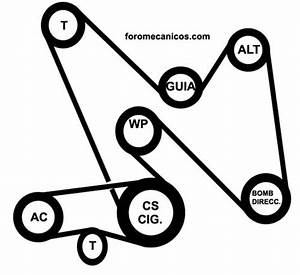 1998 Chevy Malibu Serpentine Belt Diagram