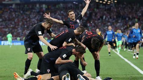 Croatia Shatter Russia Fifa World Cup Dream Meet
