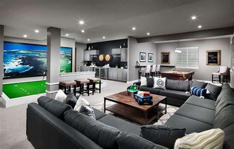 extravagant basement rec room ideas
