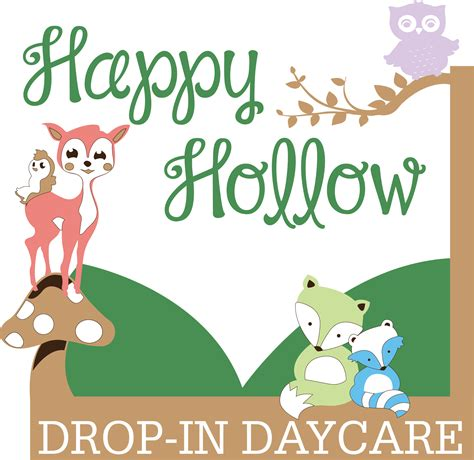 happy hollow drop in daycare asheboro nc child care center 575 | logo Happy Hollow Final