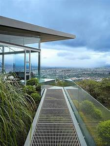 Glass, House, Elevated, On, Top, Of, Metallic, Columns, Has, Also, 3, Big, Glass, Sides, That, Create, Open, View