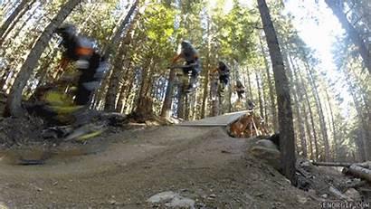 Mountain Biking Bike Ebaumsworld Gifs Jump Hiking