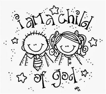 Am Child God Coloring Clip Pages Lds